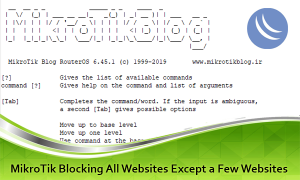 محدودیت دسترسی فقط به تعدادی سایت خاص